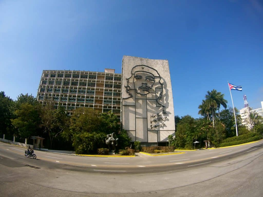 Plaza de la Revolucion in Havanna.