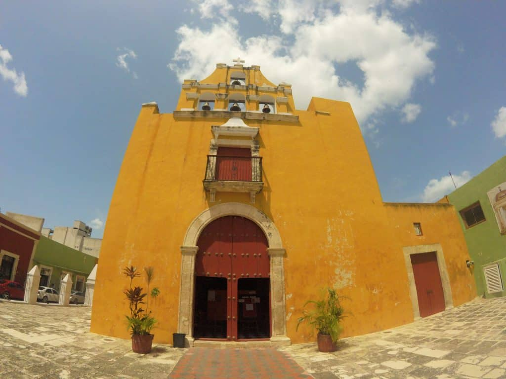 Kathedrale in Campeche