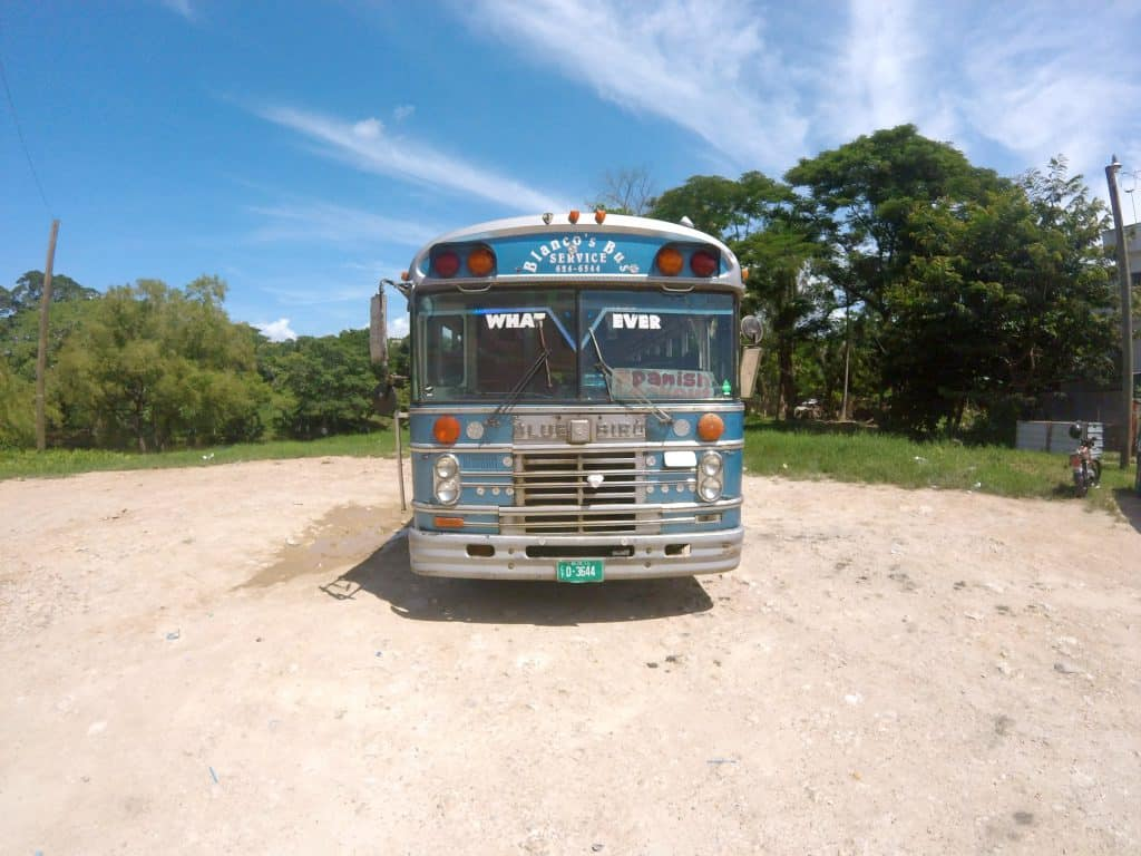 Bunter Chickenbus in Belize.