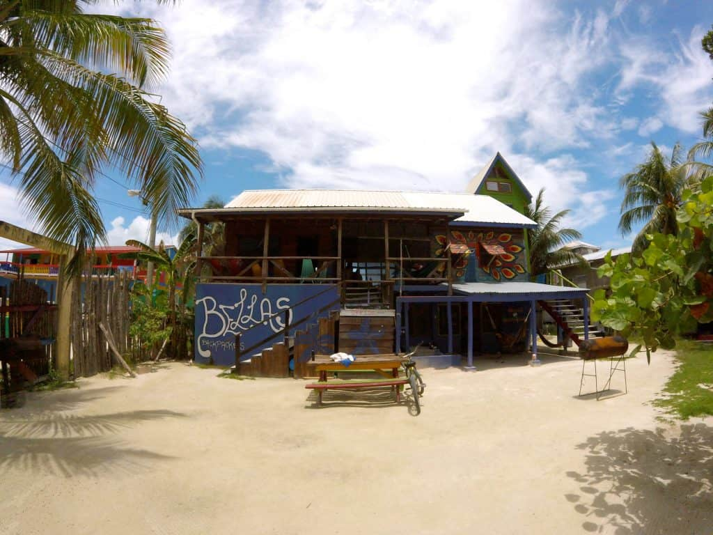Caye Caulker Hostel Bellas Backpackers