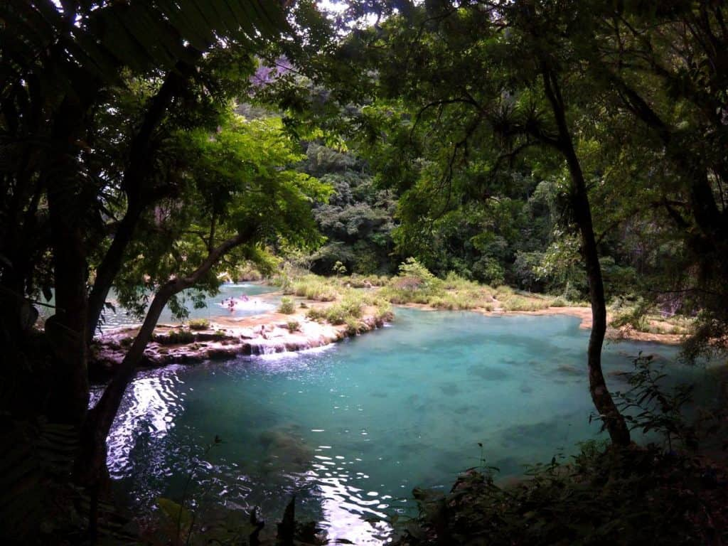 Nationalpark Semuc Champey in Guatemala
