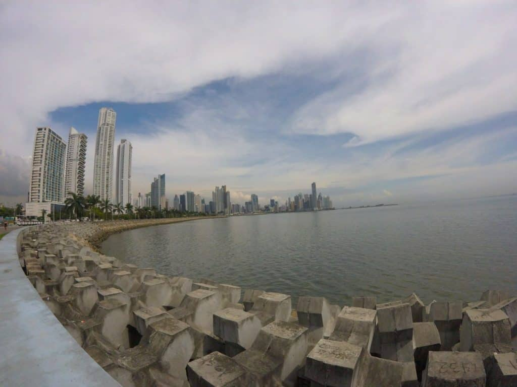 Imposante Skyline von Panama City