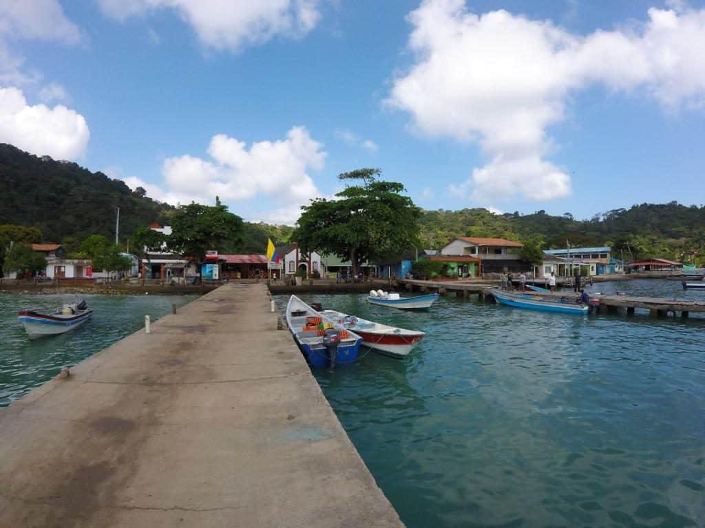 Der Hafen von Sapzurro