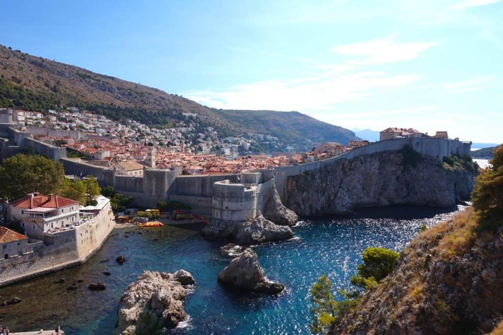 Blackwater Bay Schwarzwasserbucht Game of Thrones Drehorte in Dubrovnik