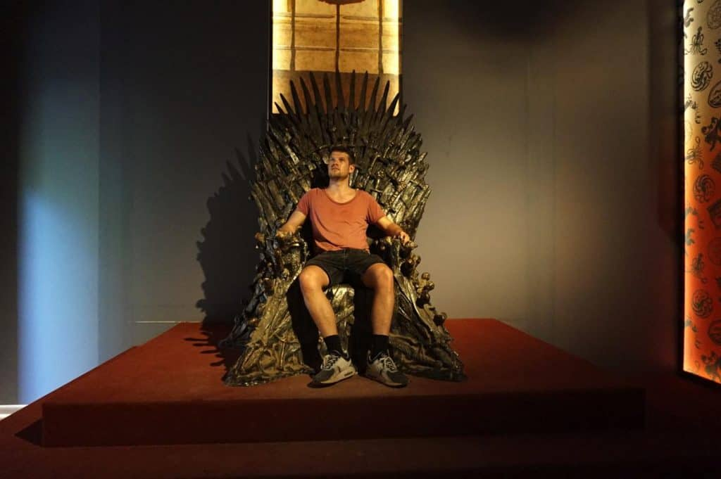 Game of Thrones Lokrum eiserner Thron Dubrovnik