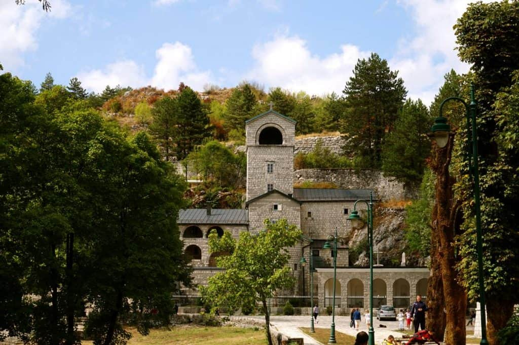 Kloster in Cetinje Montenegro Highlight