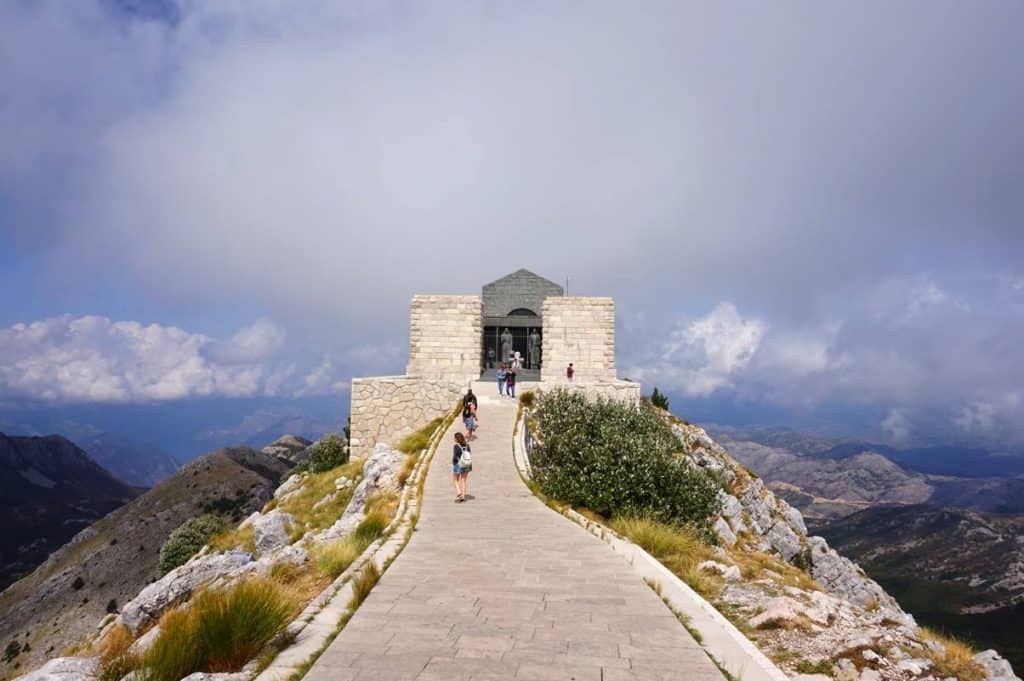 Lovcen Nationalpark Montenegro Mausoleum
