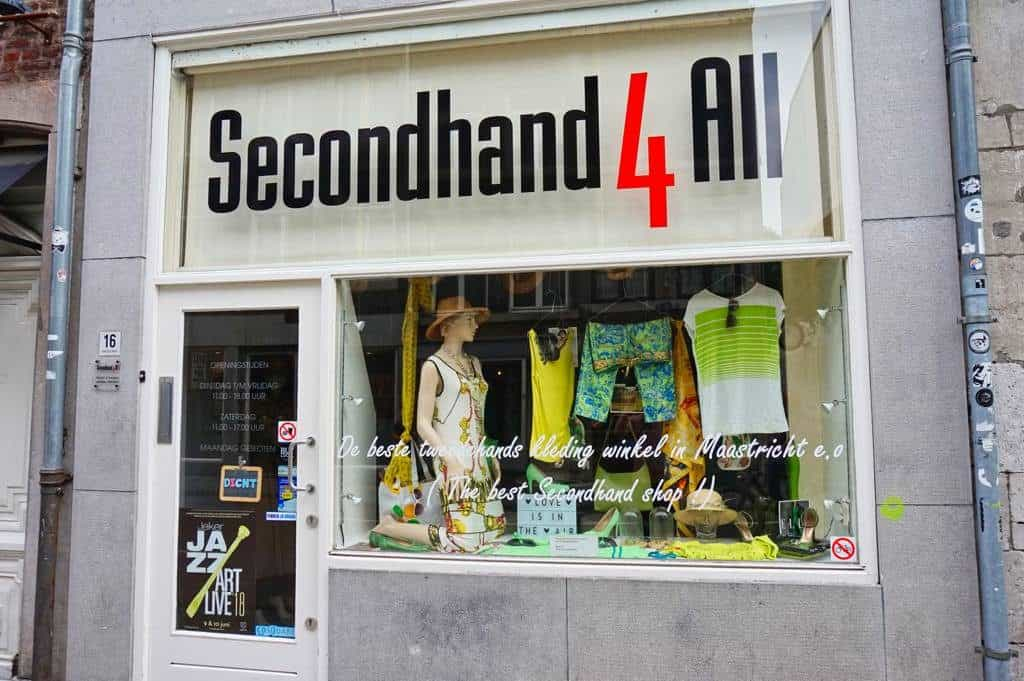Der gehobenere Vintageladen Secondhand4all in Maastricht