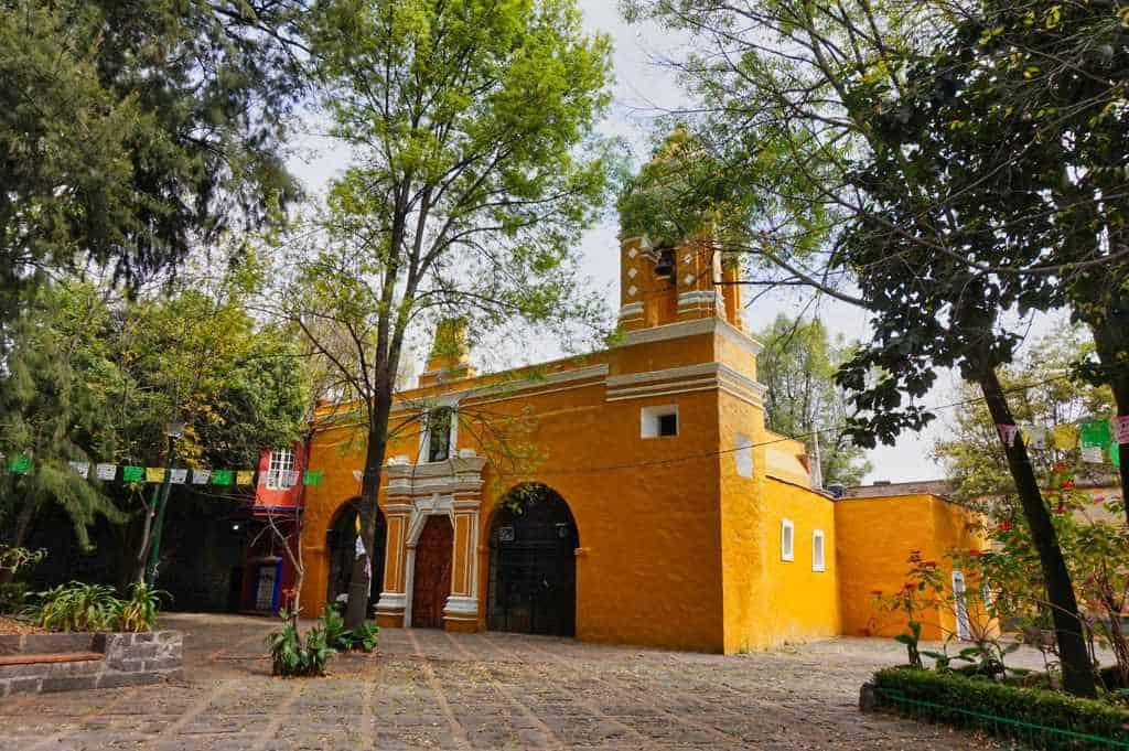 Capilla de Santa Catalina in Coyacan, Mexico City