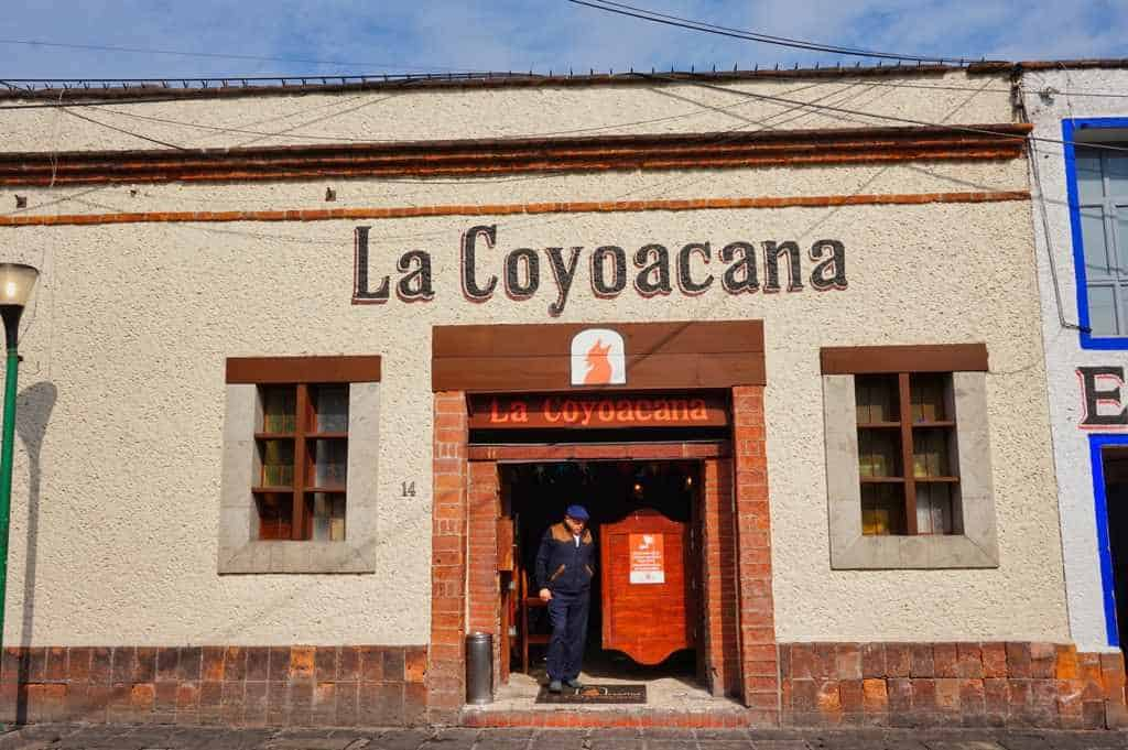 Restaurant Empfehlung La Coyacana in Mexico City