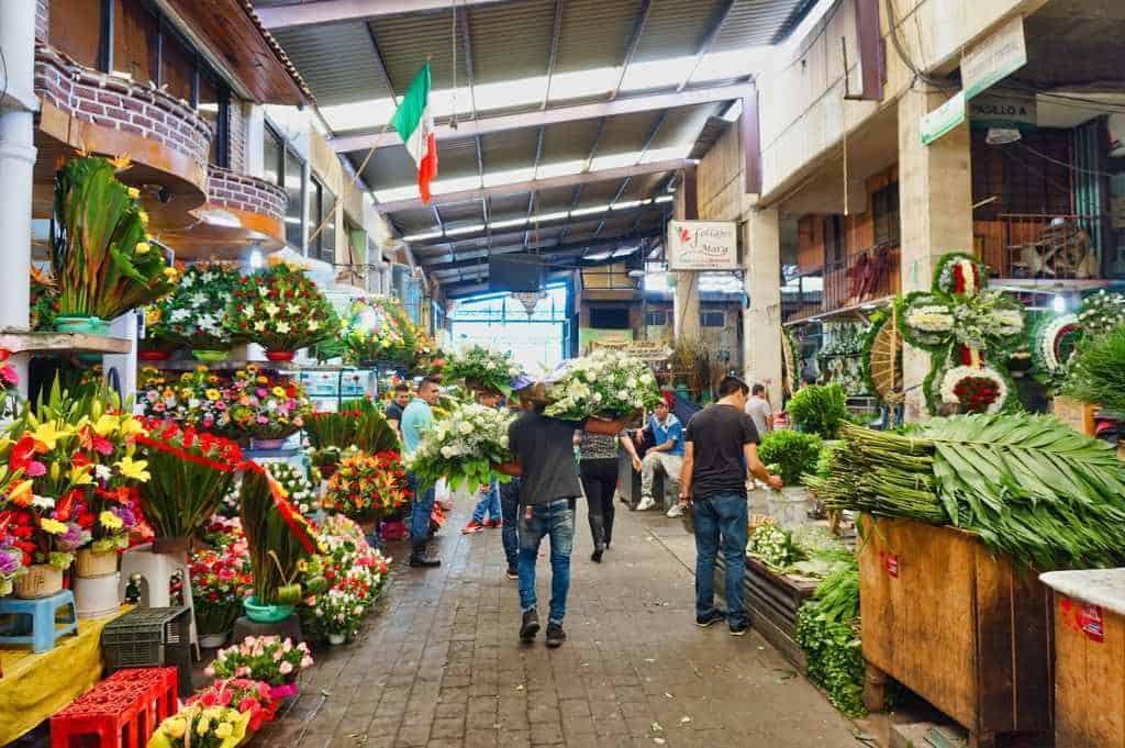 Mercado de Jamaica Mexico City