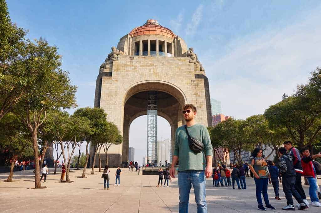 Monumento de la Revolucion in Mexico City