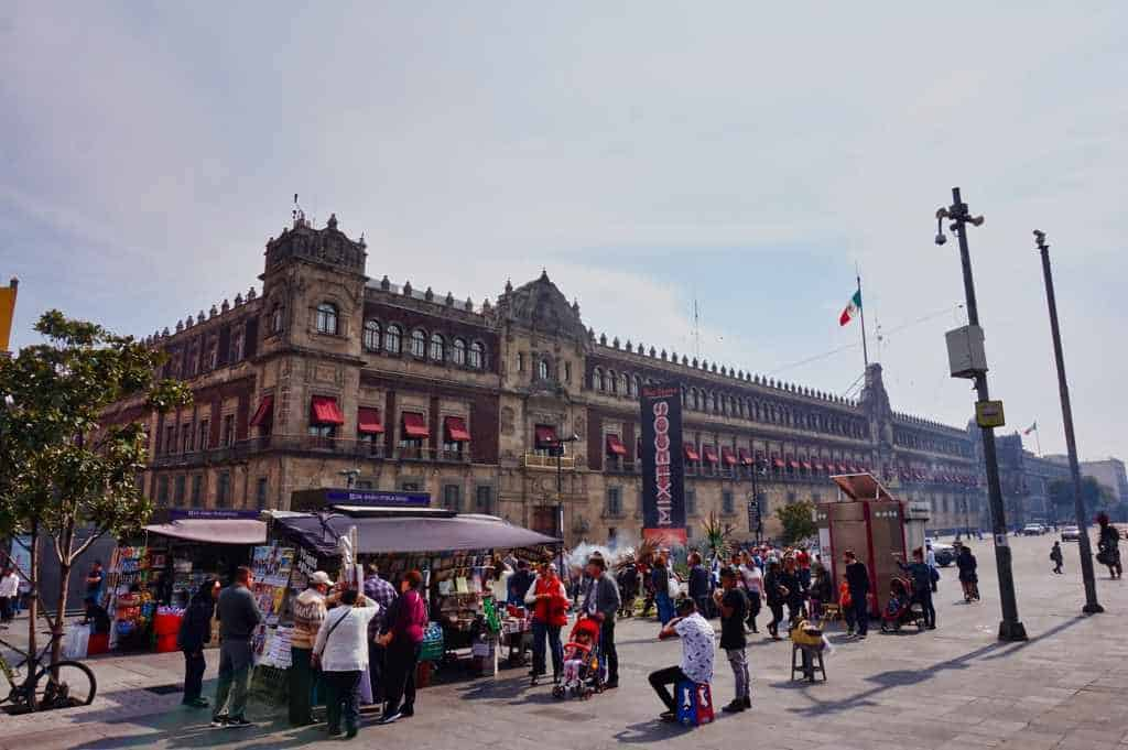 Palacio Nacional in Mexico City
