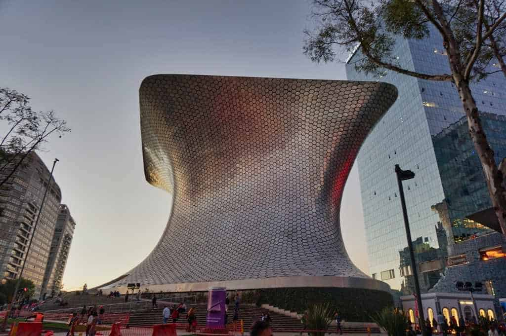 Museum Soumaya in Mexico City