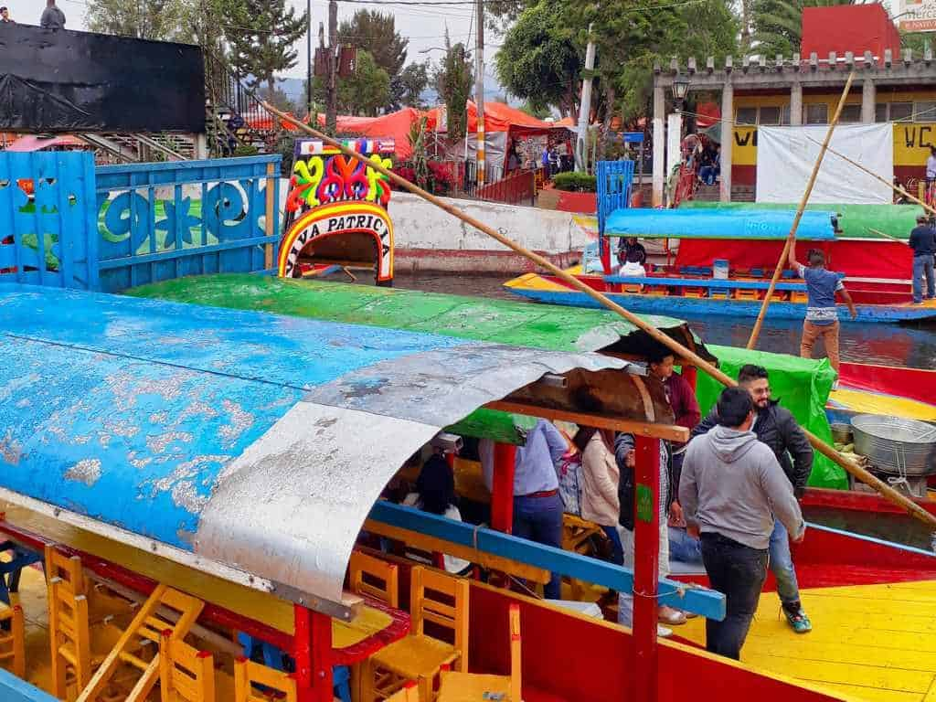 Xochimilco in Mexico City