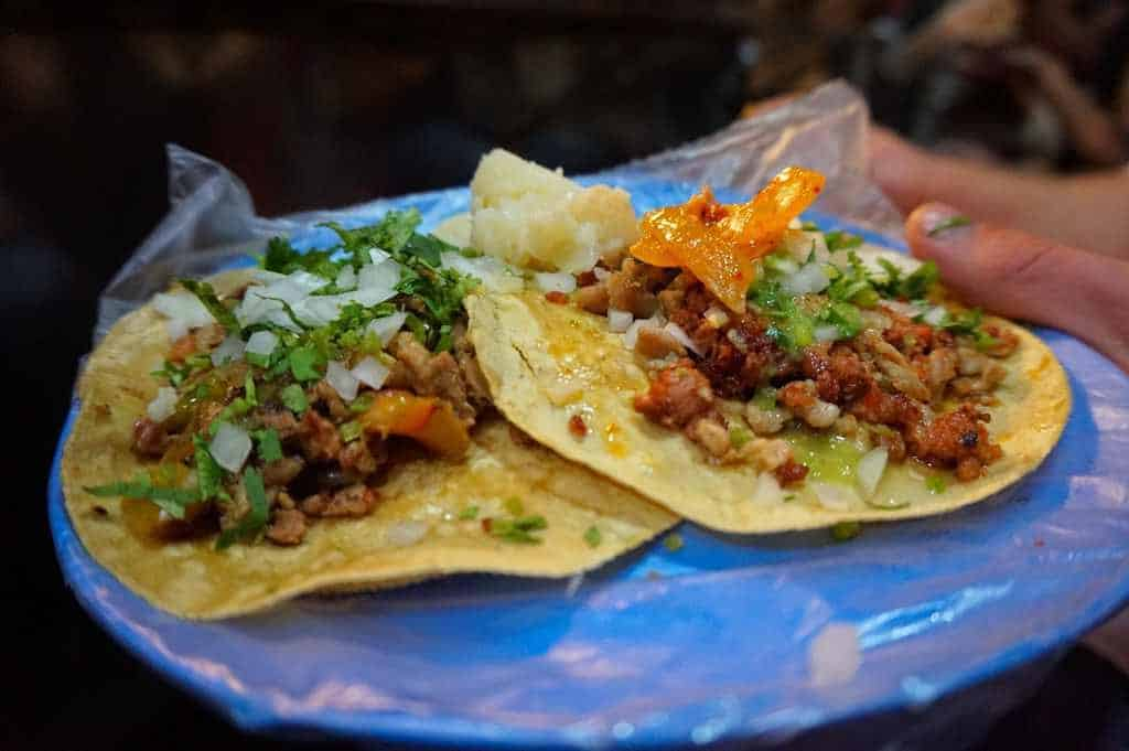 Bestes Streetfood in Roma Mexico City