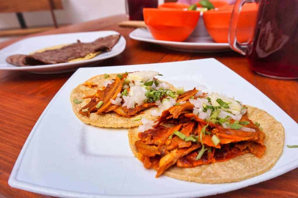 Tacos al Pastor bei El Faraon in Mexico City