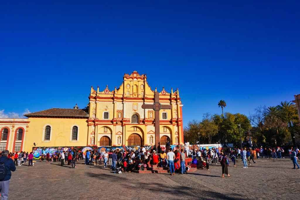 Die Catedral de San Cristobal in Mexiko