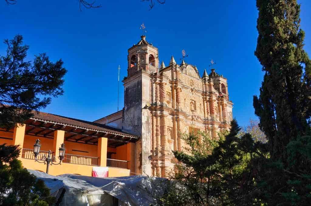Der Templo y Ex Convento Santo Domingo in San Cristobal in Mexiko