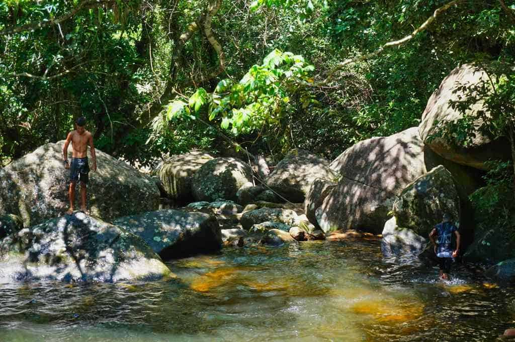 Natural Pools auf der Ilha Grande