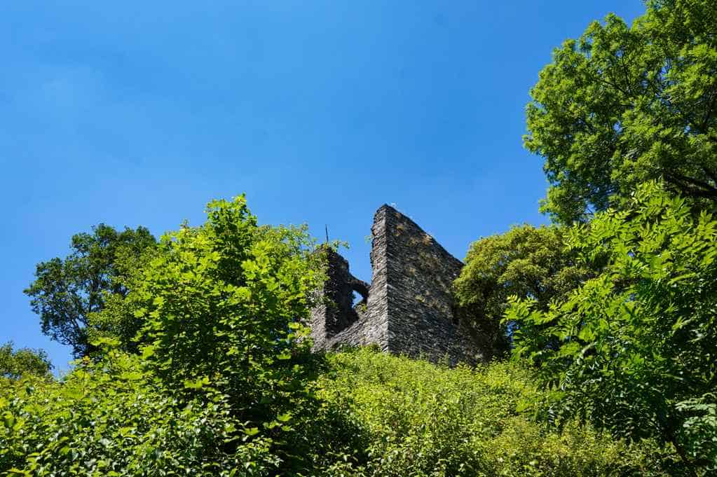 Haller Ruine in Monschau