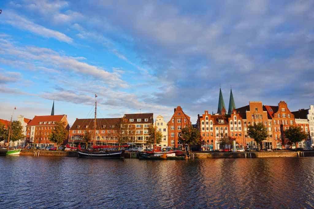 Lübeck in der blauen Stunde ist noch schöner als sonst