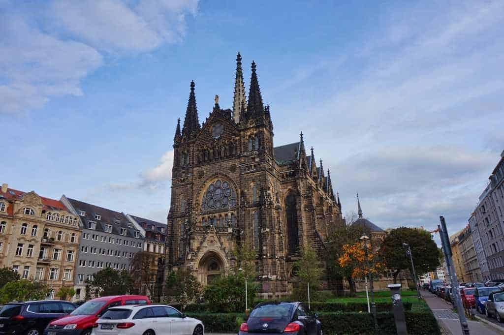 In der Peterskirche in Leipzig finden neben Gottesdiensten auch Veranstaltungen statt