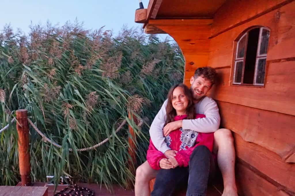 Marie und Chris bedanken sich für deine Unterstützung für ihren Reiseblog